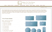 Tables On The Move Web Design