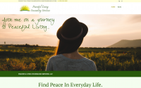 Peaceful Living Counseling Services Web Design