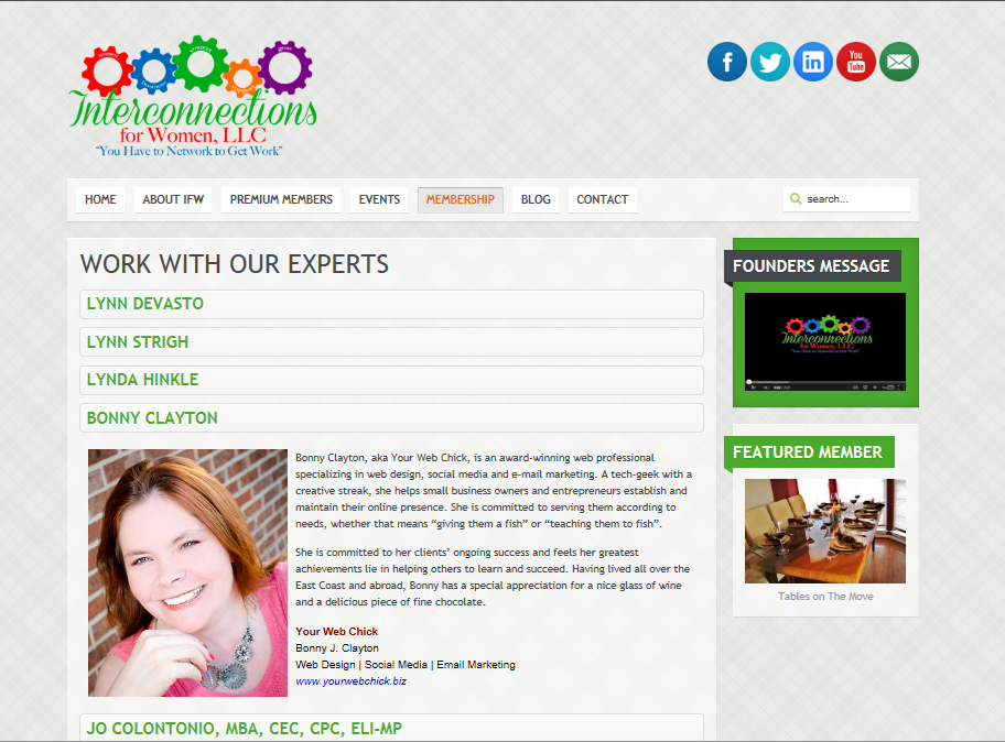 Chosen as one of 8 Experts