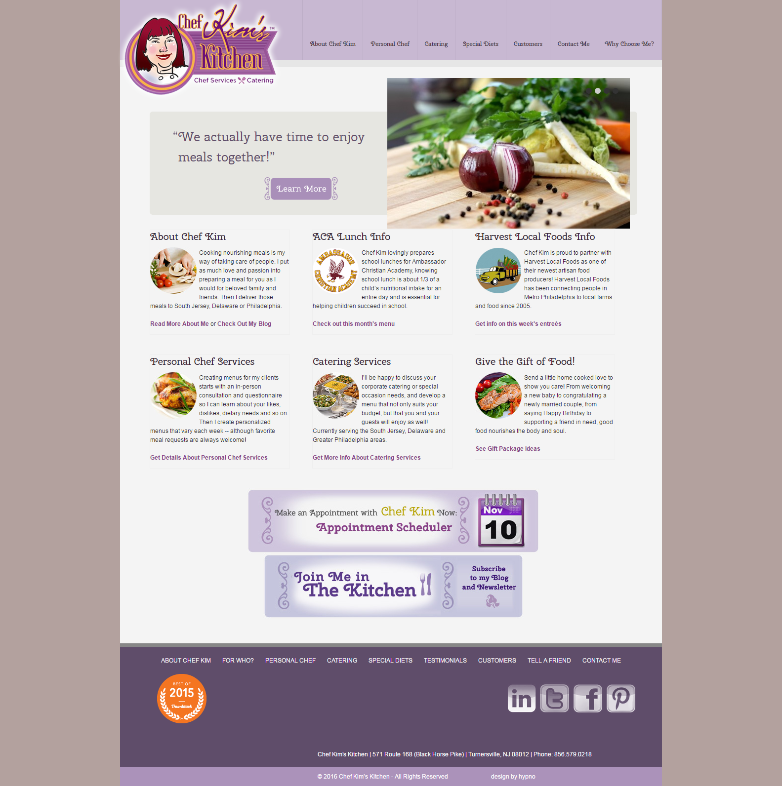 Chef Kimu0027s Kitchen Web Design Part 79