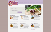 Chef Kim's Kitchen Web Design
