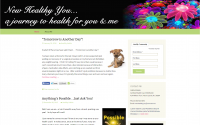 New Healthy You Web Design