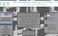 ABC Plumbing Web Design