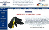 Fishing Tackle Plus Web Design