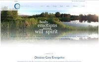 Institute of Core Energetics Web Design