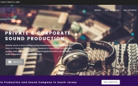 Premier Audio Productions Web Design