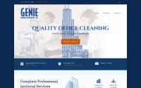 Genie Building Maintenance Web Redesign