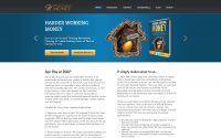 Harder Working Money Web Design