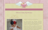 Lively Angel Boutique Website Design