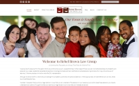 Rebel Brown Law Group Web Design