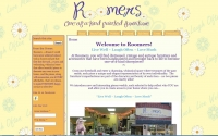 Roomers Furniture Store Web Design