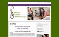 Senior Salon Services Web Design