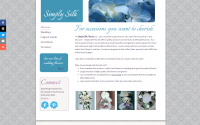 Simply Silk Florals Web Design