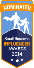 Nominated for a 2014 Small Biz Influencer Award