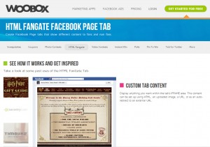 Custom Facebook Tabs with WooBox