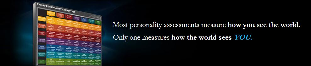 Only one personality test measures how the world sees YOU