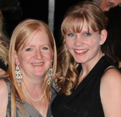 Judy with her daughter, Alexandria, at last year's 9th Annual Sharing Hope Dinner Dance