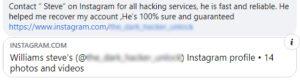 Facebook hacked? Beware of scams!